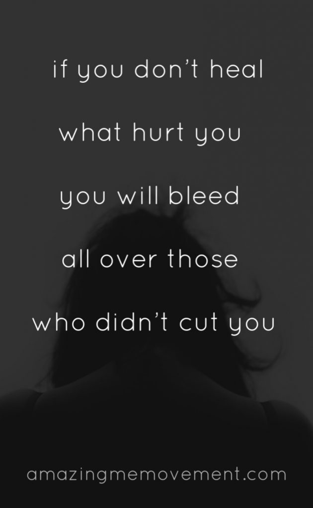 bleed on others narcissist quote hurt people zack roppel