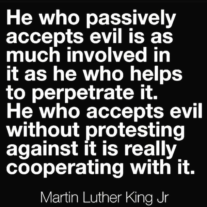 passively accepting evil is just as bad as someone perpetrating it narcissist quote