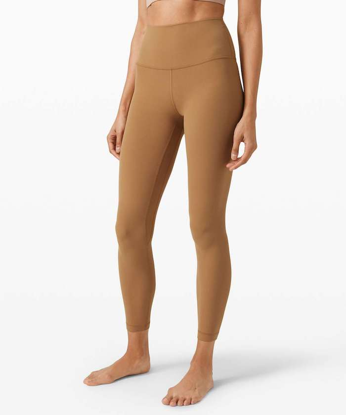 lululemon Align Pant in Saddle Brown nude