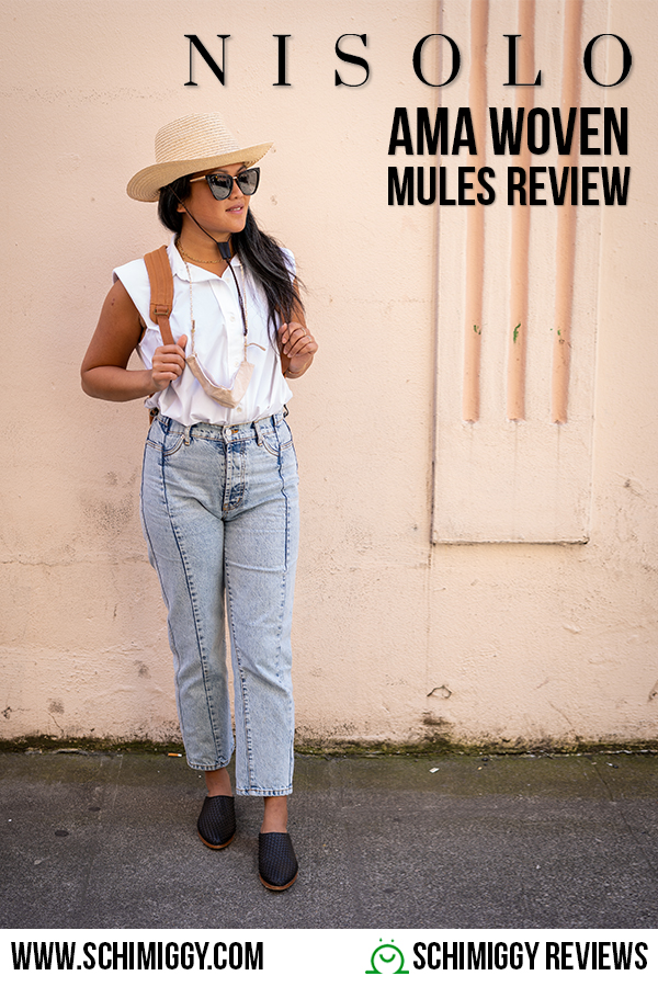 nisolo review ama woven mules