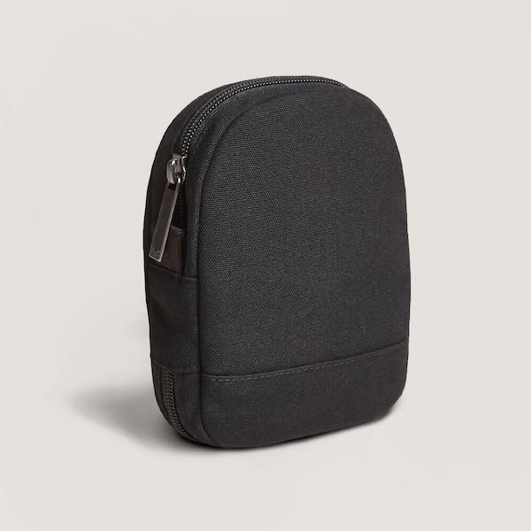 day owl cord pouch tech bag nocturnal black