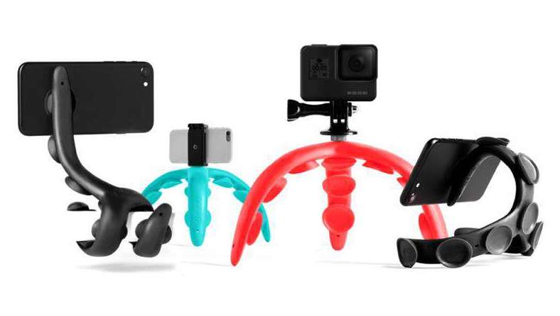 tenikle tripod with suction cups
